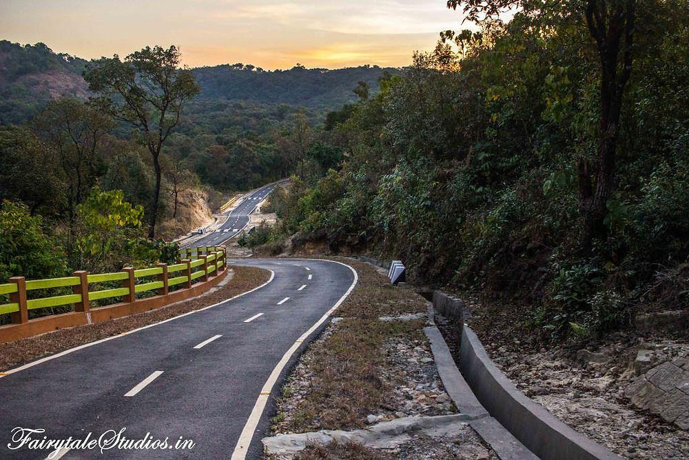 Roads in Meghalaya are surprising amazing despite heavy rains in many parts of the state