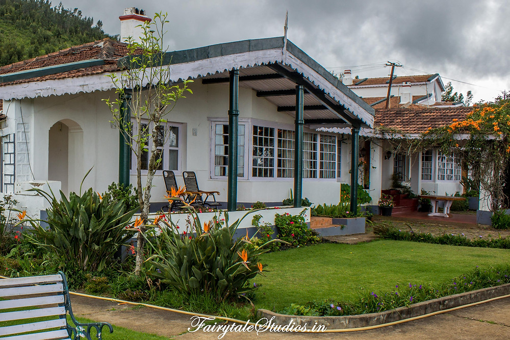 150 year old Owners bungalow at Red hills nature resort, Ooty, India