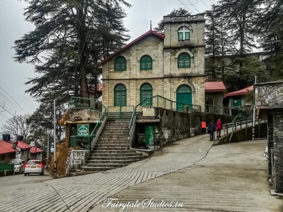 Kellogg's Memorial Church, Landour, Uttarakhand - India