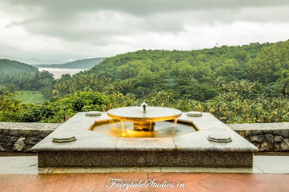 View from the seating room at Kahani Paradise - luxury villa in Gokarna