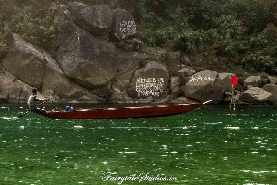 River at Shnongpdeng_Umngot river_Meghalaya Odyssey_Fairytale Photo blogs (2)
