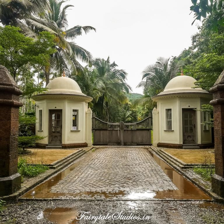 Main entrance of Kahani Paradise - Luxury villa in Gokarna