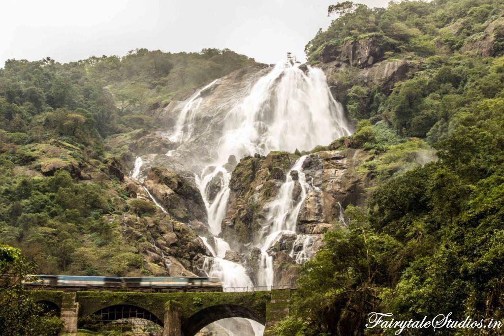 Dudhsagar Falls | | Photography - Travel - Blog | India | Fairytale Studios |