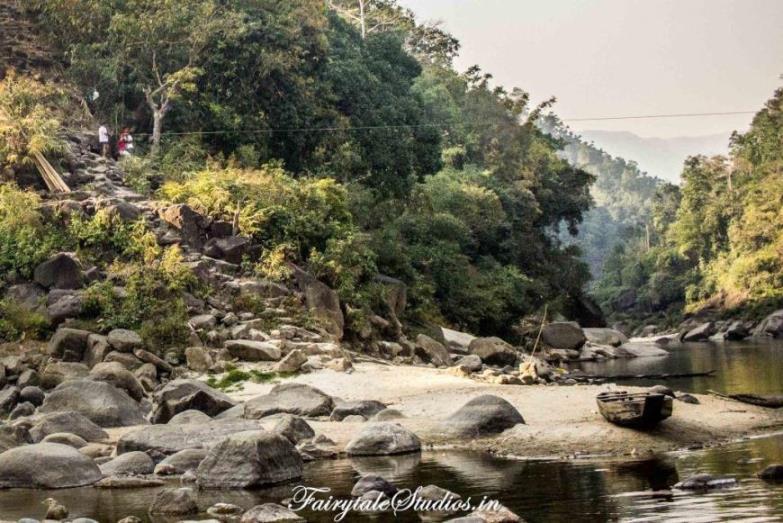19. Shnongpdeng_Ziplining at Pioneer Adventures campsite near Umngot river_The Meghalaya Odyssey_Fairytale Travel blog