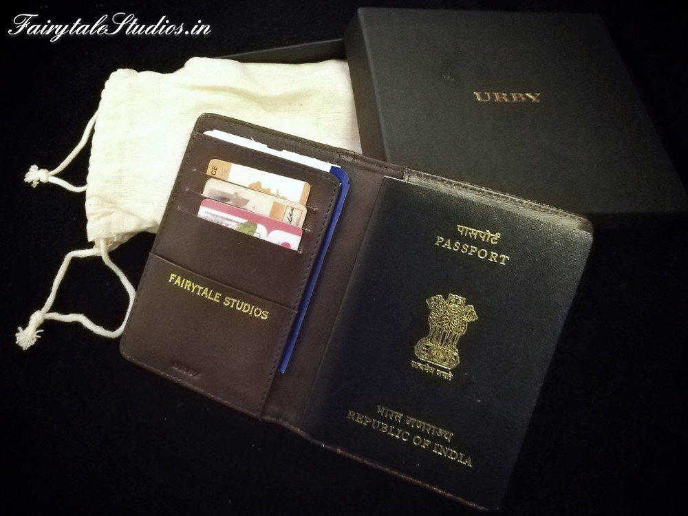 The 'Wanderlust Passport Holder' by Urby