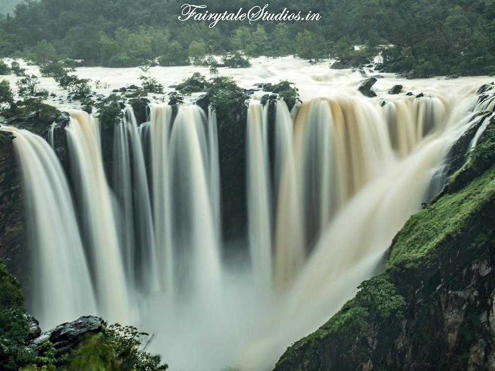 View of Jog Falls from The Inspection Bungalow_Jog Falls, Karnataka - India