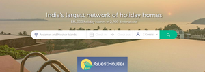 See guest houses and holiday homes in your next destination at GuestHouser