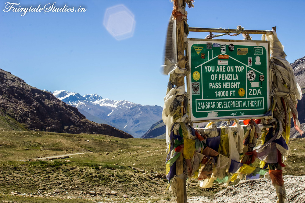 Penzila Pass, the highest motorable point in the Zanskar region (The Zanskar Odyssey Travelogue)