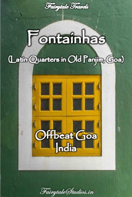 Fontainhas, Old Panjim - Goa - India