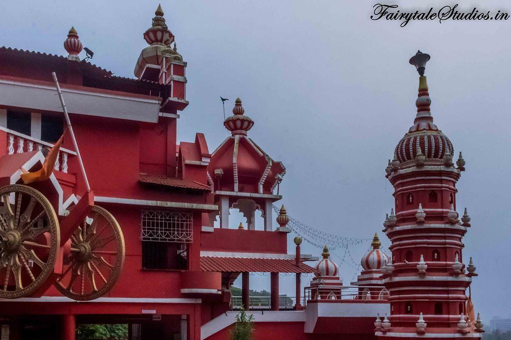 Maruti Temple on hill of Altinho