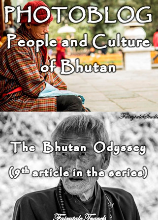 Photoblog on Bhutan - People and culture