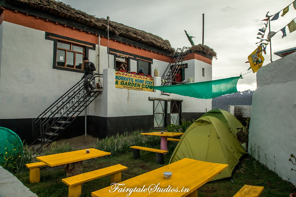 Our homestay in Langza village, Spiti Valley - Himachal Pradesh, India