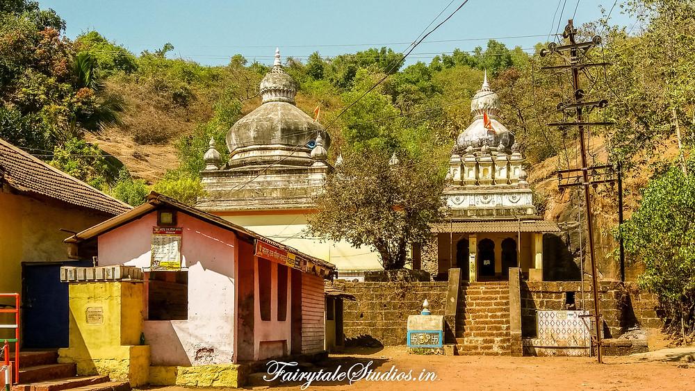 Shiv temple in velas village