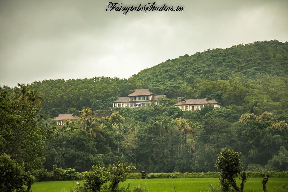 View of Kahani Paradise - luxury villa in Gokarna from Belekan village
