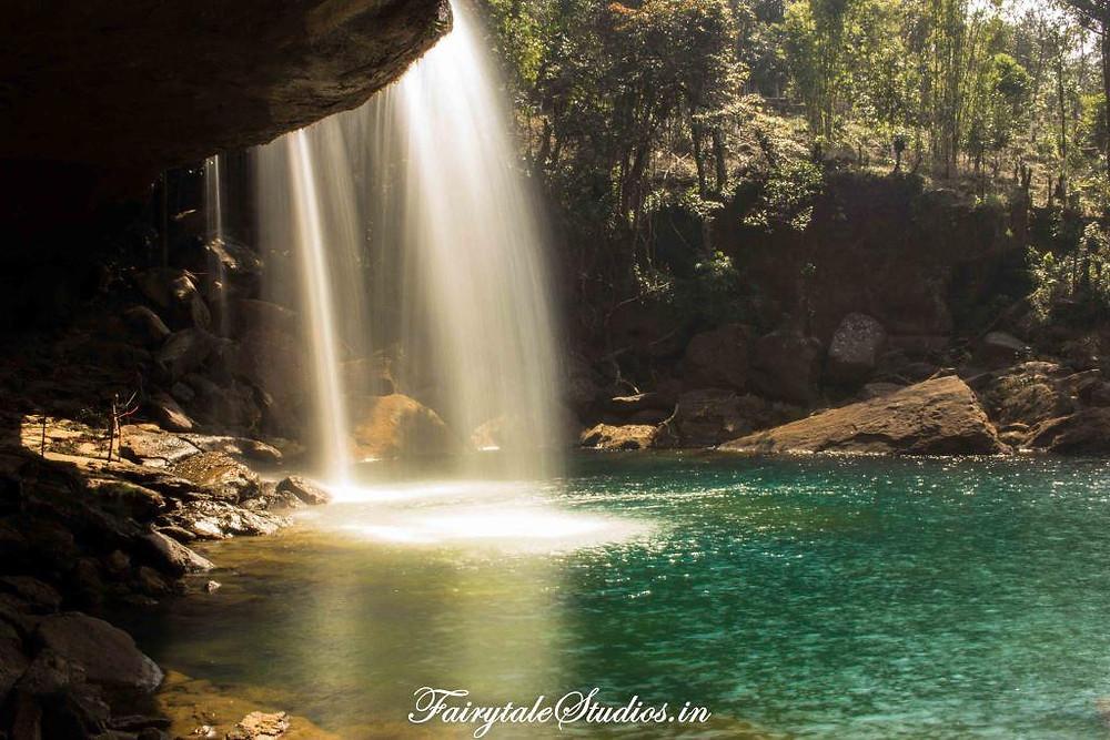 KrangSuri Waterfalls in Amlarem, Jaintia Hills