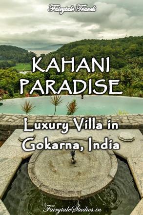 Kahani Paradise, Luxury villa in Gokarna - A Review