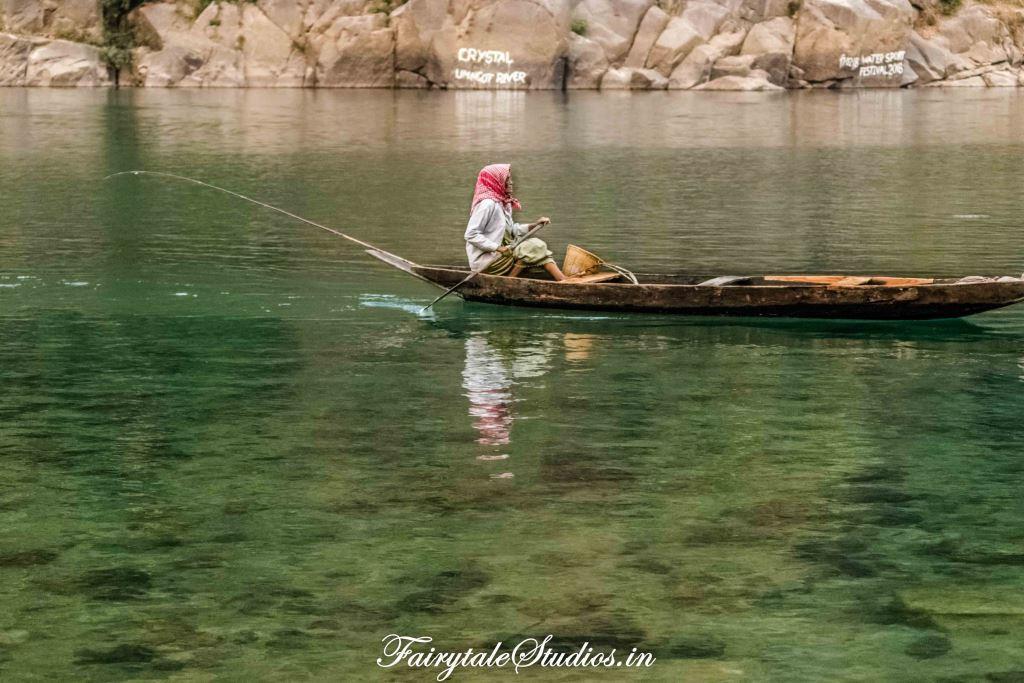 River at Shnongpdeng_Umngot river_Meghalaya Odyssey_Fairytale Photo blogs (1)