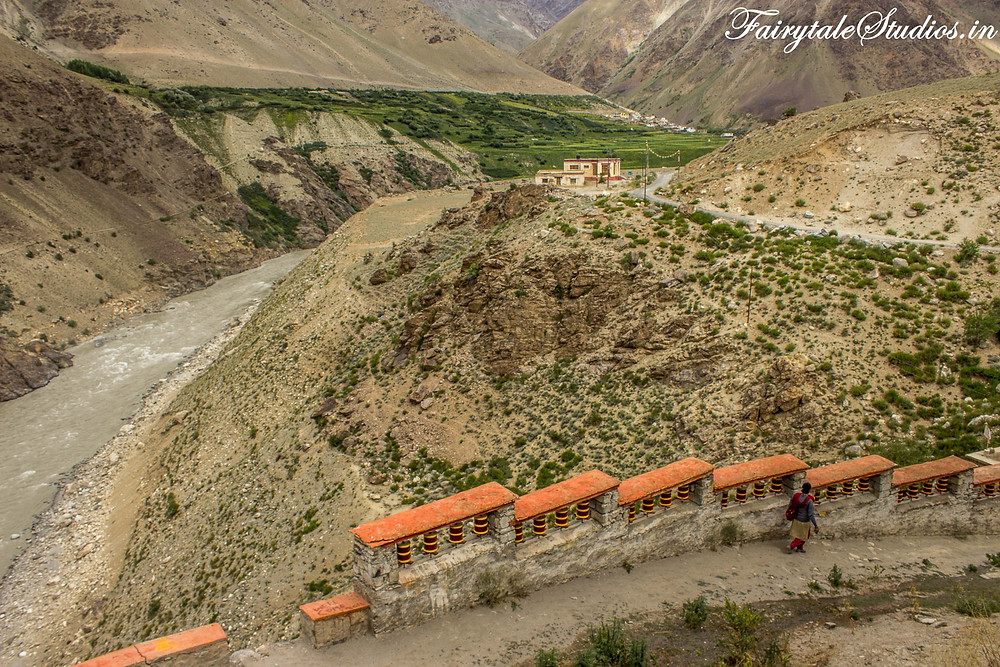 Views from Bardhan Gompa or monastery (The Zanskar Odyssey Travelogue)