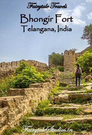 Bhongir Fort in Telangana