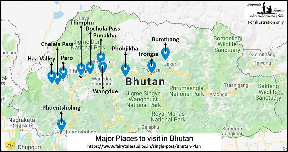 Major sightseeing places to visit in Bhutan_Plan your trip to Bhutan_The Bhutan Odyssey