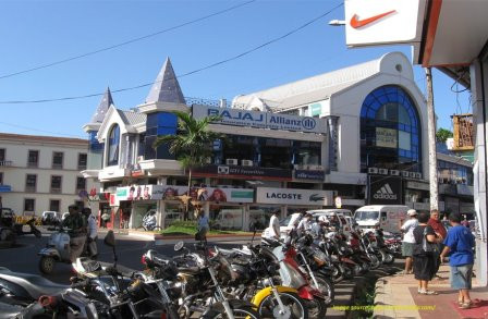 Shopping centers in Panjim market, Goa