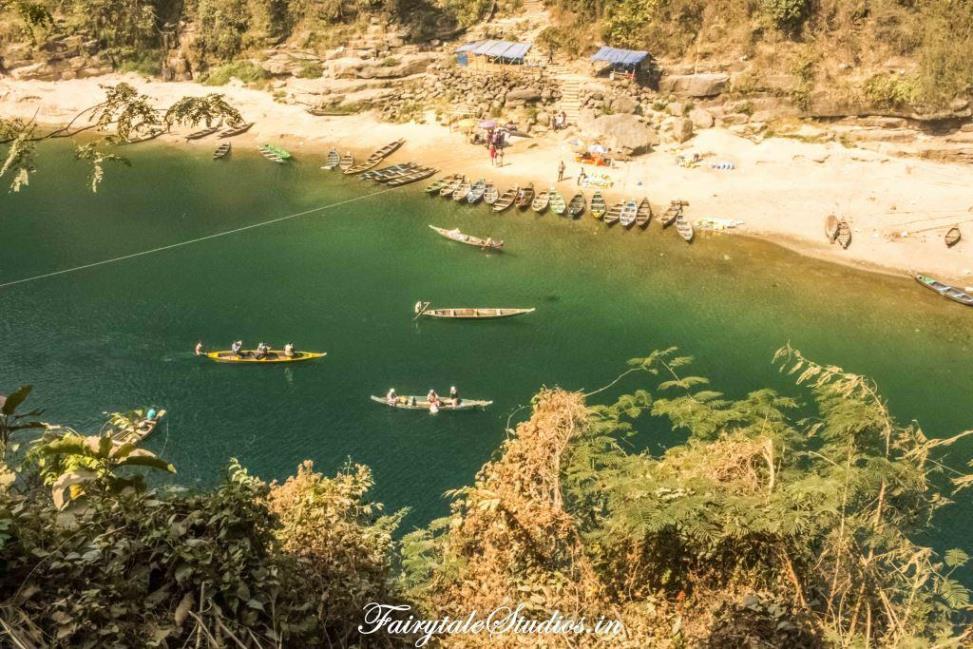 First Glimpse of Dawki_Umngot river_Meghalaya Odyssey_Fairytale Photo blogs (2)