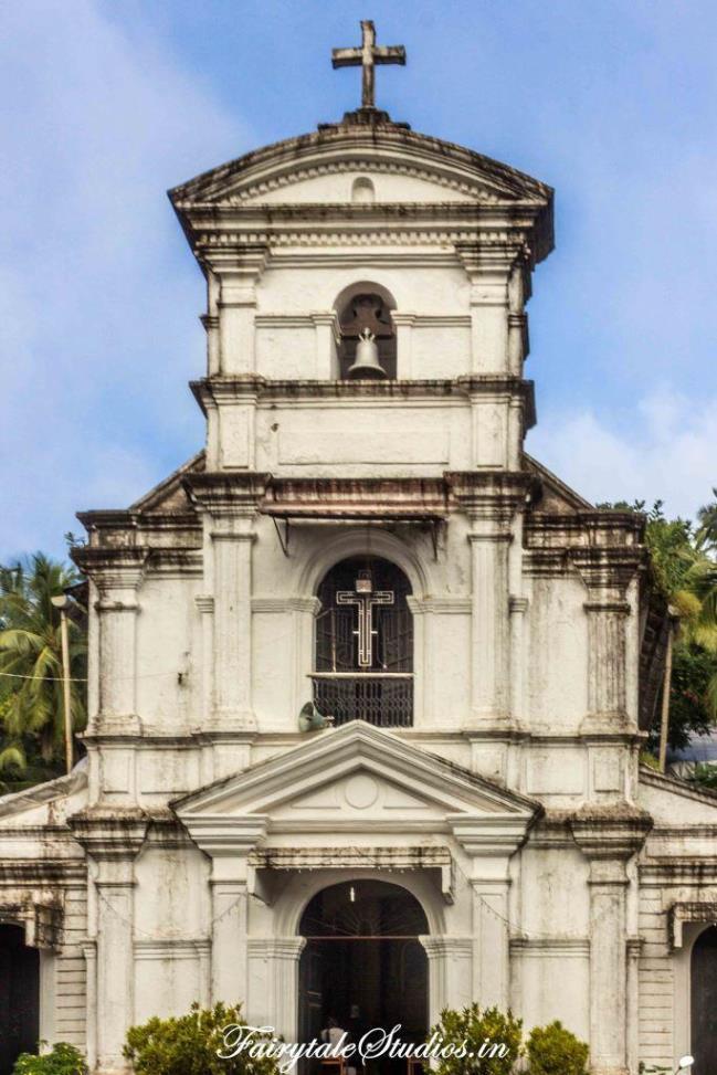 St. Sebastian Chapel in Fontainhas of Goa