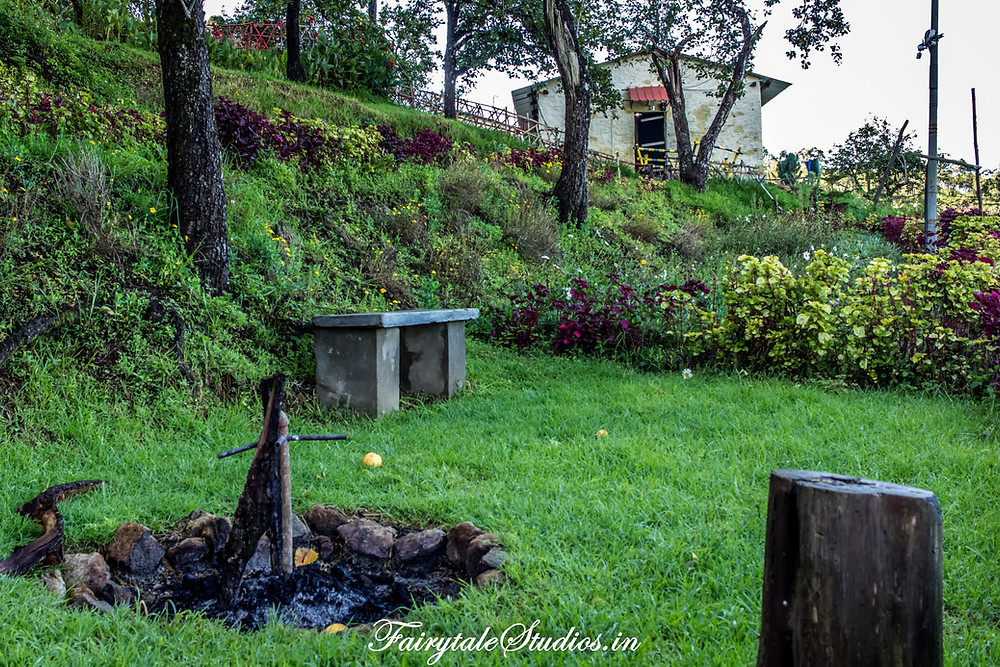 Bonfire and Barbeque for guests @ The Pear County, Kodaikanal