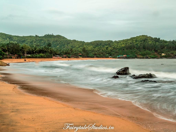 Om Beach_Gokarna Places to visit_Fairyta
