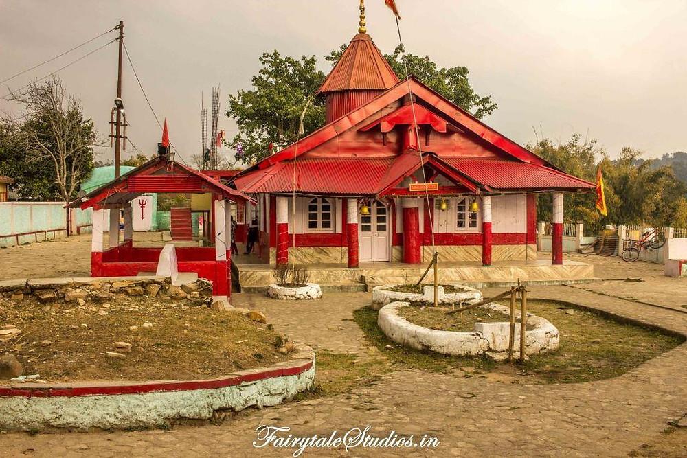 Durga Temple in Nartiang, Jaintia Hills