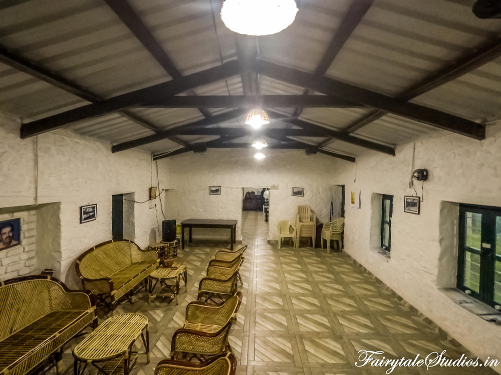 The common recreation room where children can play number of activities, guests can relax and even listen to music through speakers @ The Pear County, Kodaikanal