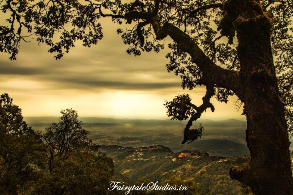 View from La Villa Bethany, Landour (near Mussoorie), Uttarakhand - India