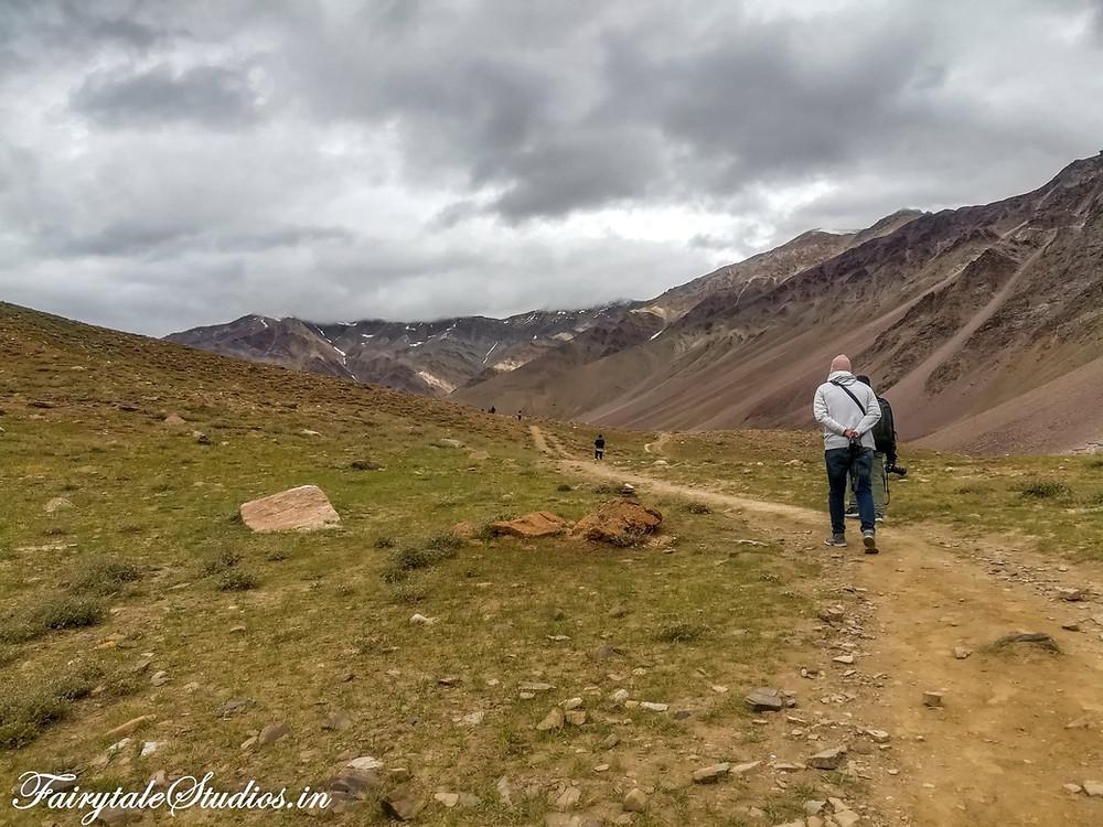 Trekking to Chandratal Lake, Spiti Valley - Himachal Pradesh, India