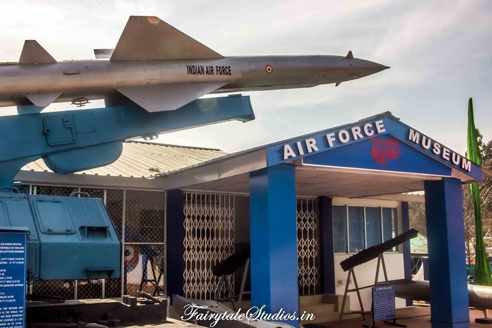 Entry of Air force museum near Shillong