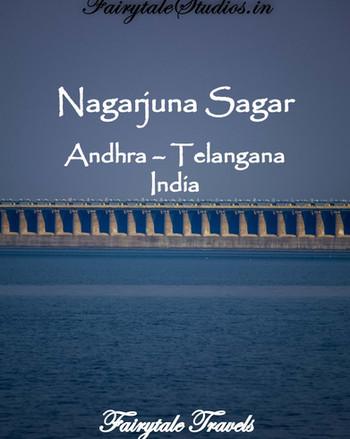 Nagarjuna Sagar dam in Andhra - Telangana