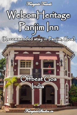 WelcomHeritage Panjim Inn, Goa