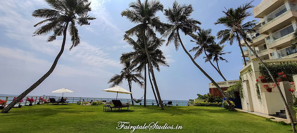 Rockholm at the Lighthouse beach, Resorts on Kovalam beach