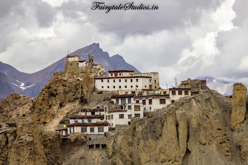 Dhankar village, Spiti Valley, Himachal Pradesh_India