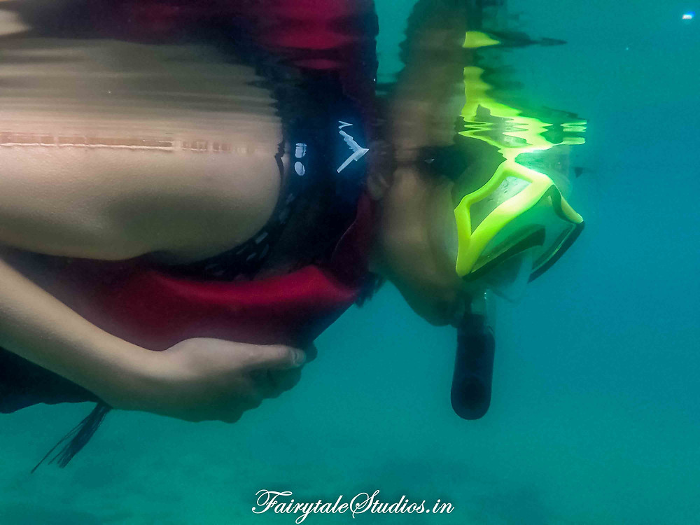 Scuba diving and Snorkelling are popular in Netrani island near Murudeshwar