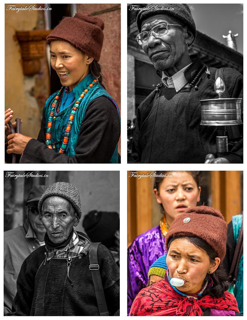 People enjoying and eagerly waiting for the Stongdey festival to start (The Zanskar Odyssey Travelogue)