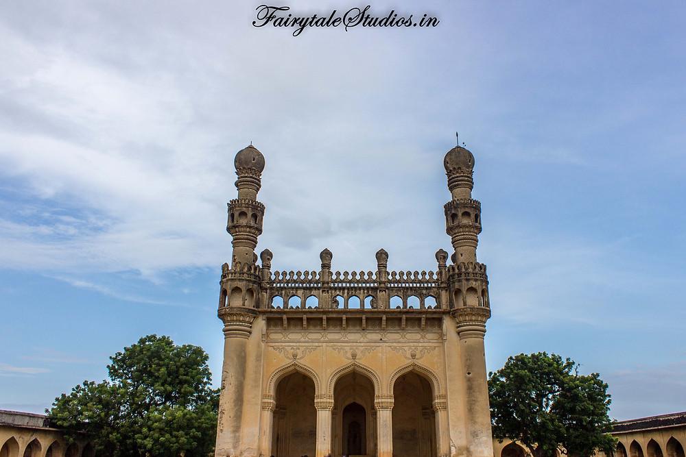 A mosque at Gandikota fort