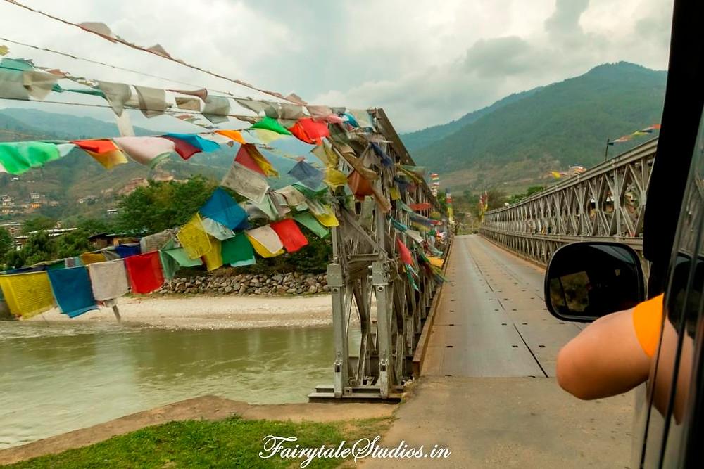 Roads and bridges in Bhutan