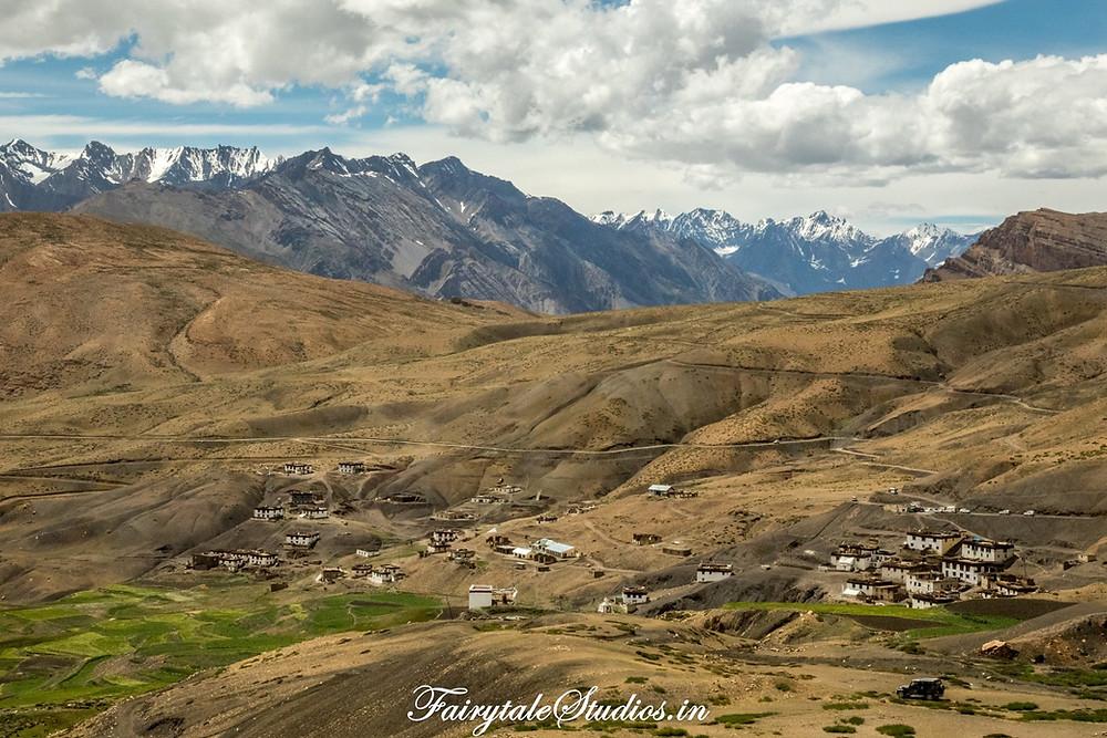 Komik village - the highest village in the world - Spiti Valley, India