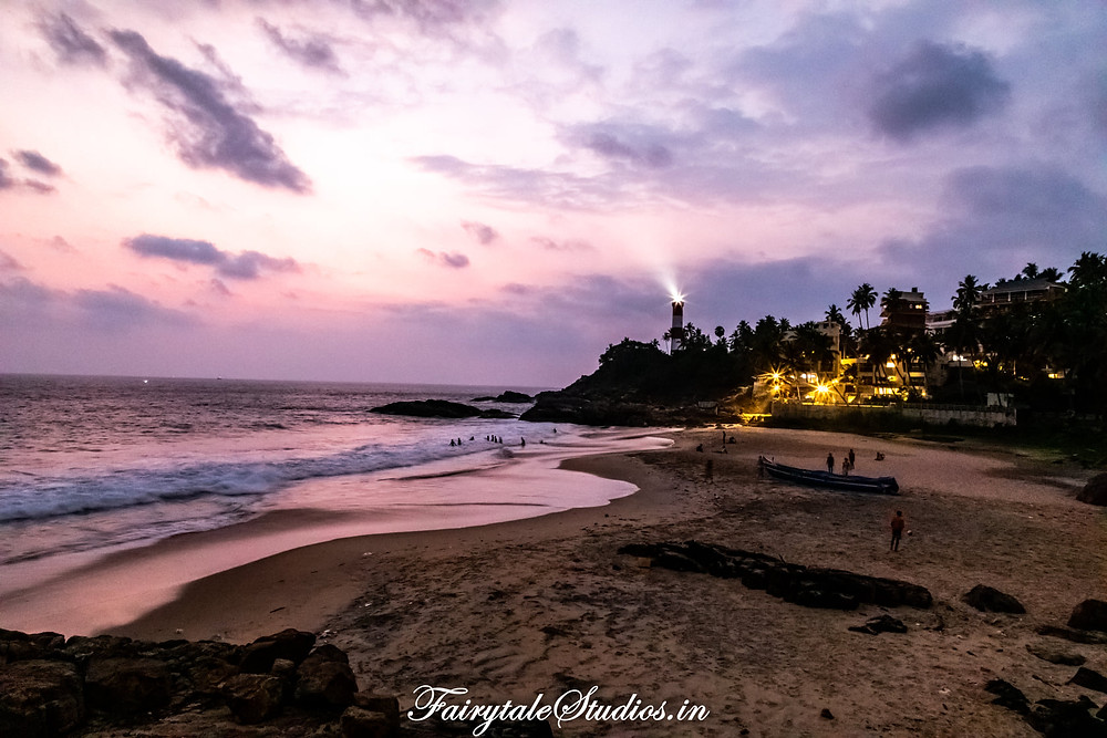 Places o visit in Kovalam
