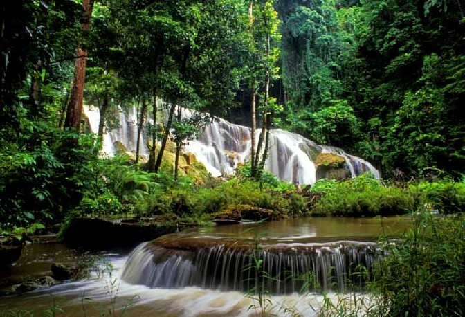 White surf waterfall_The Andaman Odyssey_Fairytale Travels