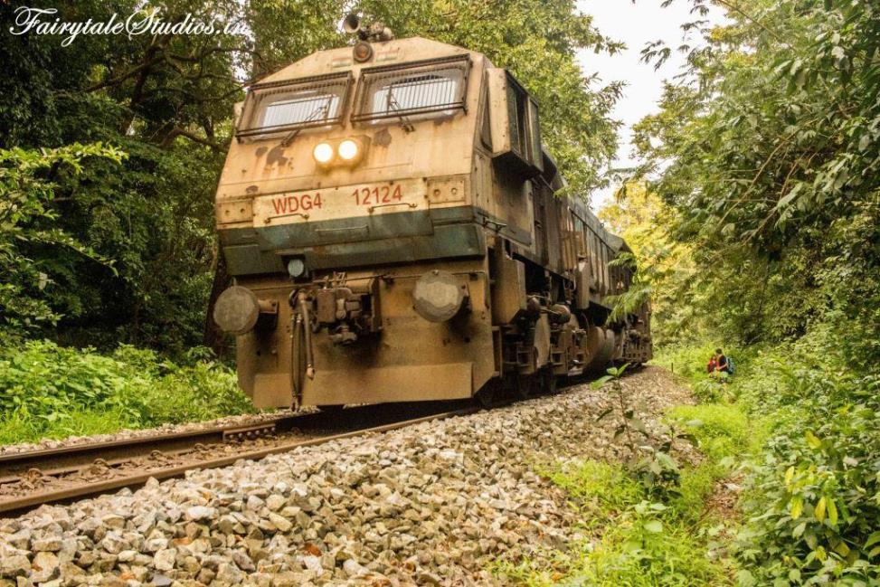 Train To Dudhsagar Railway station, Goa - India