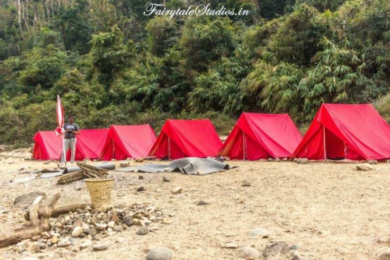 17. Shnongpdeng_Pioneer Adventures campsite near Umngot river_The Meghalaya Odyssey_Fairytale Travel blog