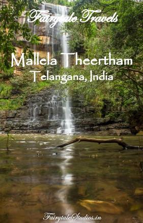 Mallela Theertham waterfalls in Telangana
