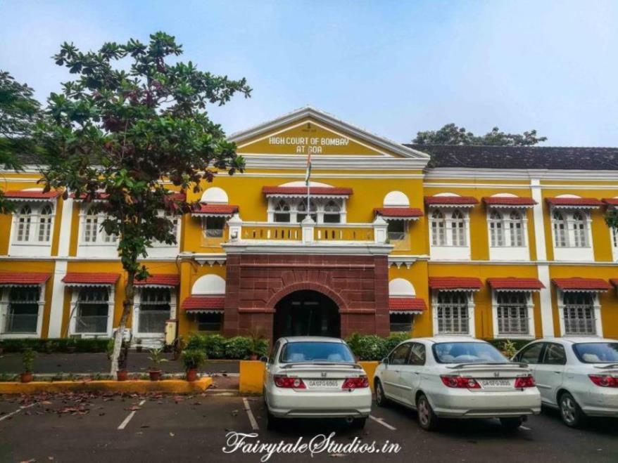 High court of Bombay in Goa on Altinho hill in Panjim, Goa