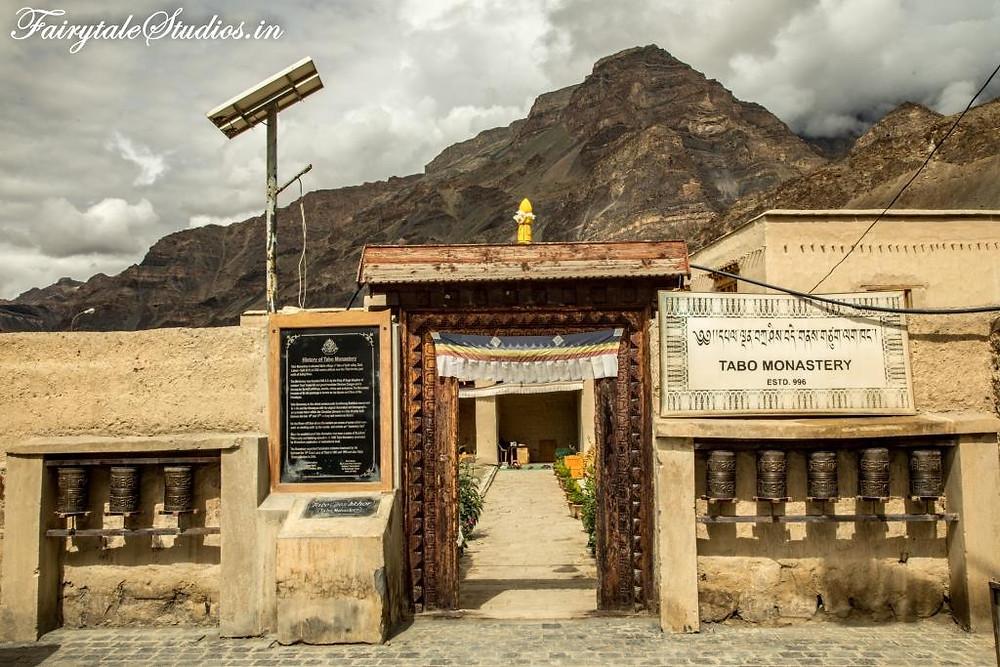 Entrance to Tabo monastery, Tabo - Spiti Valley, Himachal Pradesh